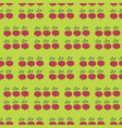 turnip field seamless pattern vegetable vector image vector image