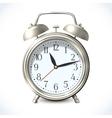 Alarm clock emblem vector image vector image