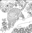 Coloring Page vector image vector image