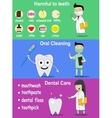 dental banners on hygiene vector image