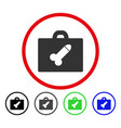 dildo toolbox rounded icon vector image vector image