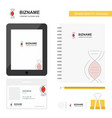 dna business logo tab app diary pvc employee card vector image vector image