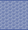 japanese chinese traditional asian blue pattern vector image vector image