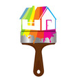 painting house design vector image