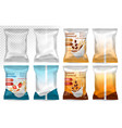polypropylene plastic packaging - instant vector image vector image