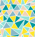 Preview Abstract seamless pattern with triangles vector image