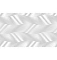 seamless easy white pattern wavy endless texture vector image vector image