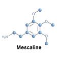 Mescaline vector image