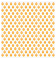 gold dots pattern vector image