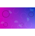 abstract background with neon color circles vector image vector image