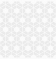 abstract seamless pattern hexagonal grid vector image