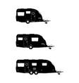 caravan vector image