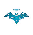 halloween party bat characters vector image vector image