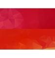 Horizontal polygonal banners vector image vector image