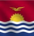 Kiribati flag vector image vector image