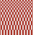 Abstract red checkered pattern background vector image