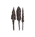 ancient stone spears arrowheads archaeological