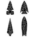 Arrowhead vector image vector image