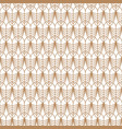 art deco gold line geometric style pattern vector image vector image