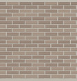 brick wall seamless background vector image vector image
