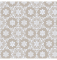 Lace ornament pattern background vector image vector image