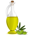 Olive bottle vector image vector image