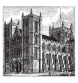 ripon cathedral vintage vector image vector image