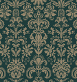 seamless pattern in style baroque vector image