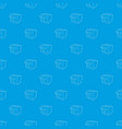 store pattern seamless blue vector image vector image