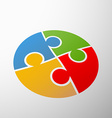 Symbol partnership Stock vector image vector image