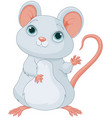 adorable mice vector image vector image