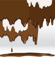 Cocolate background vector image vector image