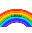 curved rainbow colorful background design vector image vector image