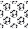 Football or soccer seamless pattern vector image vector image