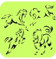 Light horses - set vinyl-ready vector | Price: 1 Credit (USD $1)