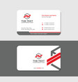 professional business card vector image vector image
