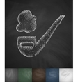smoking pipe icon Hand drawn vector image vector image