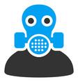 toxic work flat icon vector image