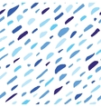 Abstract hand drawn colorful confetti seamless vector image