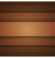Brown paper layers abstract background vector image vector image