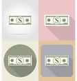 business and finance flat icons 07 vector image vector image