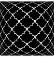 Design warped monochrome convex pattern vector image