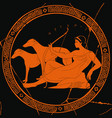 greek goddess artemis vector image