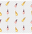 seamless pattern of perfume and adekalon bott vector image