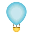 balloon air hot icon vector image