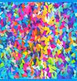bright confetti seamless pattern vector image