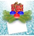 gift box christmas vector image vector image
