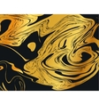 Marble Pattern Gold vector image