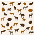 Animal seamless pattern