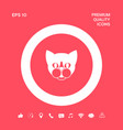 cat - logo protect sign icon graphic elements vector image